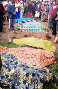 Corpses of those killed in attacks on Kafanchan area Kaduna state Nigeria on July 24 2020. Morning Star News 194x300