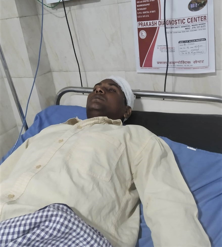 Dinesh Kumar in Hospital
